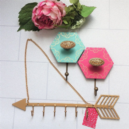 40% off oh so pretty! Wall hooks